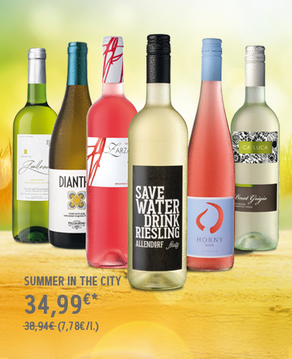 Weinpaket Summer in the City