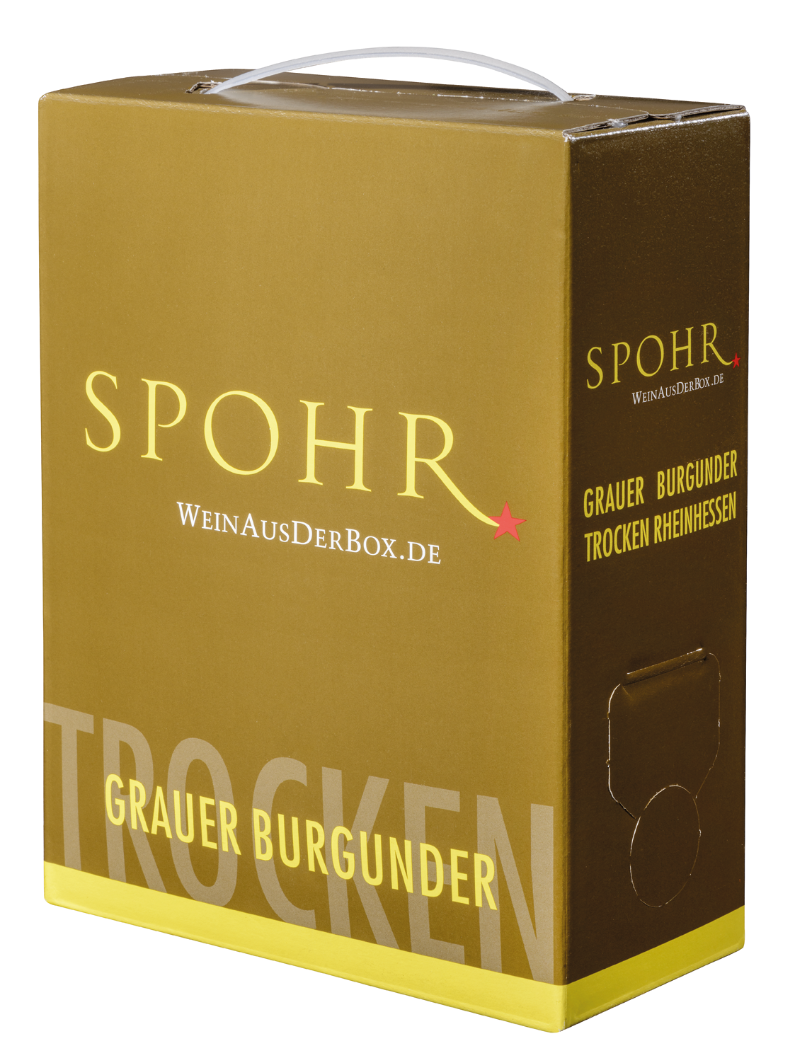 weingut spohr grauburgunder bib 3l rheinhessen qba wei wein vino24. Black Bedroom Furniture Sets. Home Design Ideas